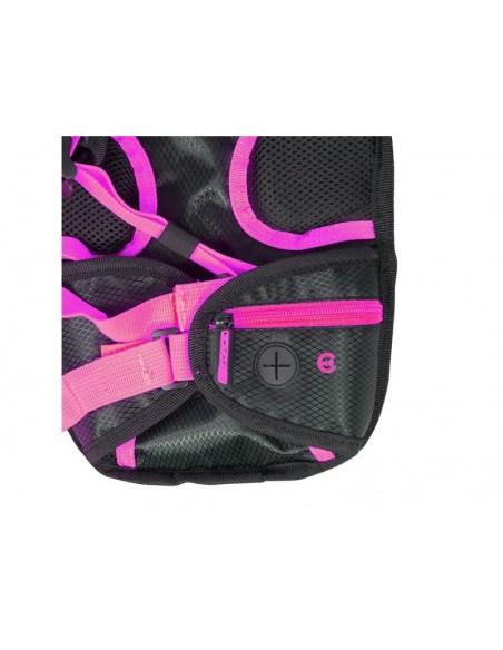 Zaino idrico con sacca MTB FORCE Aron plus 10 litri + 2 rosa