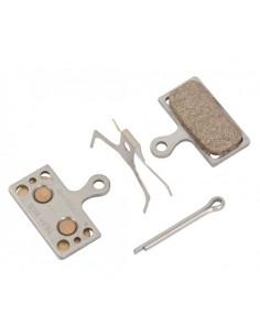 Pastiglie freno Shimano XTR XT SLX G04S metalliche acciaio