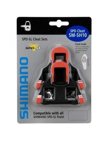 Tacchette per pedali bici  SHIMANO SPD SL ROAD SM SH-10 rosso