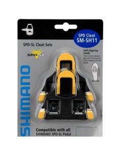 Tacchette per pedali bici  SHIMANO SPD SL ROAD SM SH-11 giallo