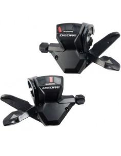 Coppia comandi Shimano XT SL M770 3 x9 velocità