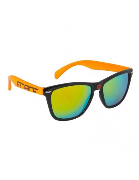 Occhiali ciclismo Force FREE nero arancio