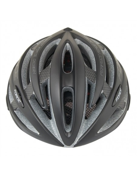 Casco bici Force ROAD nero opaco
