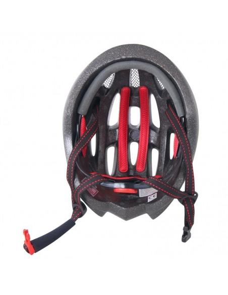 Casco bici Force TERY bianco nero rosso