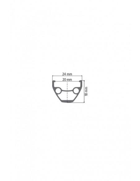 Ruote MTB Dt Swiss X 1900 Spline 20 mm 27,5 Boost