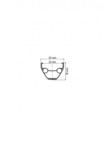Ruote MTB Dt Swiss X 1900 Spline 20 mm 29 Boost