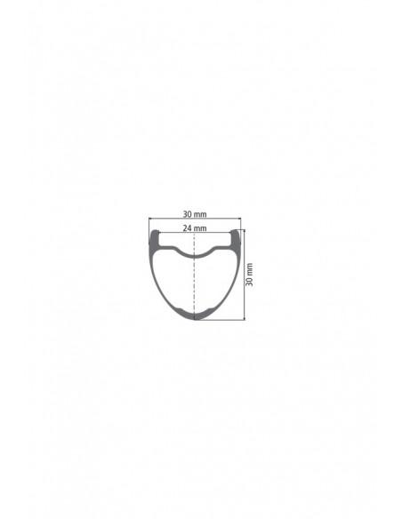 Ruote MTB Dt Swiss XMC 1200 24 mm carbonio 27,5