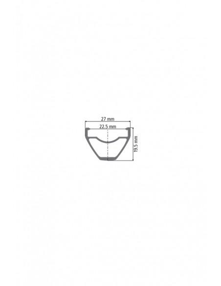 Ruote MTB Dt Swiss M 1700 Spline Two 22,5 mm 27,5