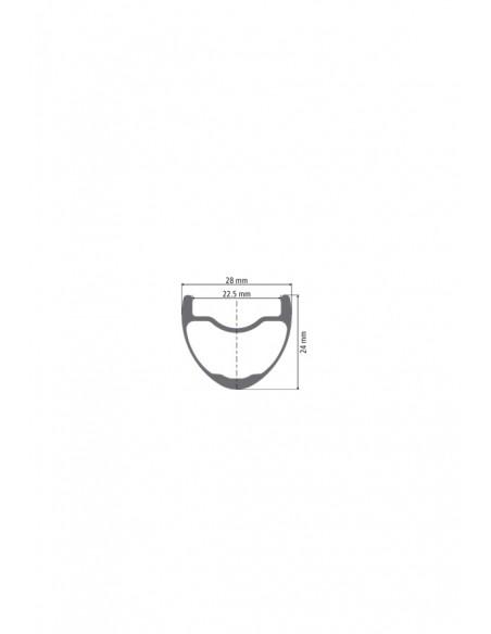 Ruote MTB Dt Swiss XRC 1200 22,5 mm carbonio 29 Boost