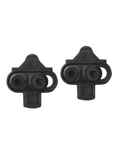 Tacchette FORCE per pedali SPD BLACK