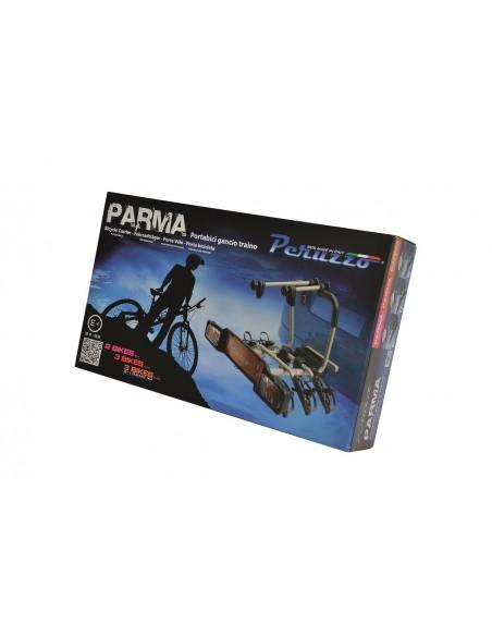 Portabici gancio traino PERUZZO Parma in allumino 3 bici art.706/3A