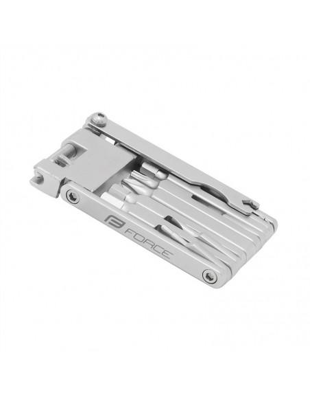 Multiattrezzo tascabile multifunzione bici FORCE set 12 chiavi