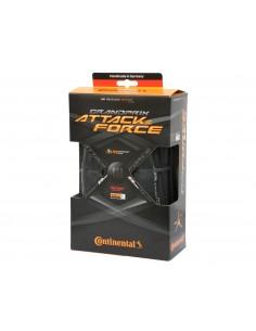 Coppia coperture bici da corsa CONTINENTAL Grand Prix GP Attack & FORCE III 23/25