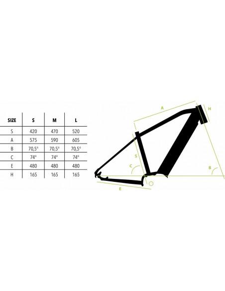 MTB elettrica BAFANG E-bike Vektor E-ARROW 29