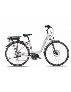 CITY Bike donna elettrica BAFANG E-bike Montana E-LUNAPIENA 28 8v