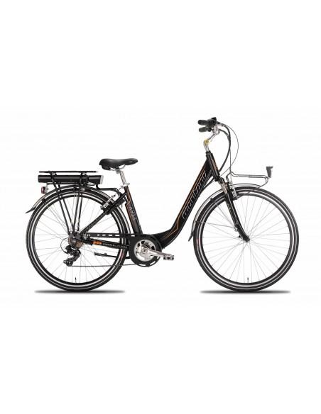 """City Bike elettrica donna Ansmann FM 4.0 E-bike Montana E-AYDA 26"""" 6v"""