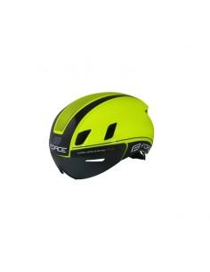 Casco bici da strada FORCE WORM con visiera magnetica integrata