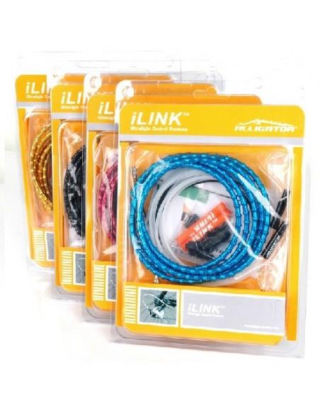 Set cavi e guaine ALLIGATOR  I-LINK in alluminio CAMBIO 4mm