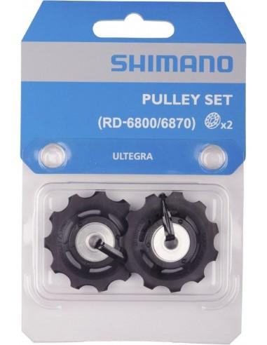 18246 - SHIMANO COPPIA PULLEY PULEGGE CAMBIO ULTEGRA 11V. RD-6800/6870
