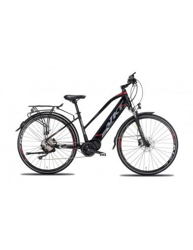 Citybike elettrica E-bike Vektor E-RAIL BAFANG 10 velocita' DONNA
