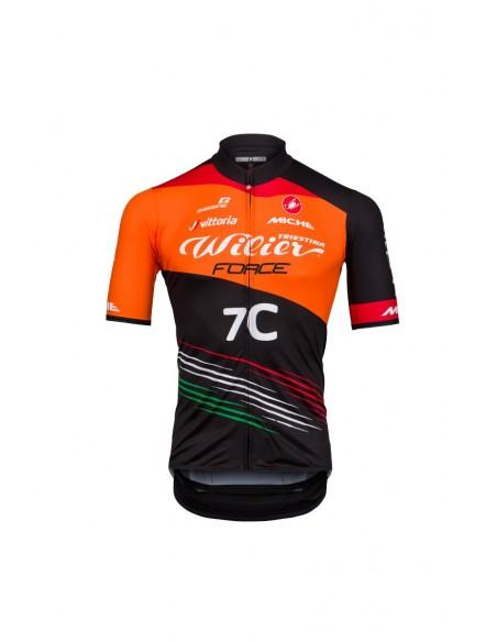 Maglia ciclismo squadra team MTB WILIER 7 C 2018