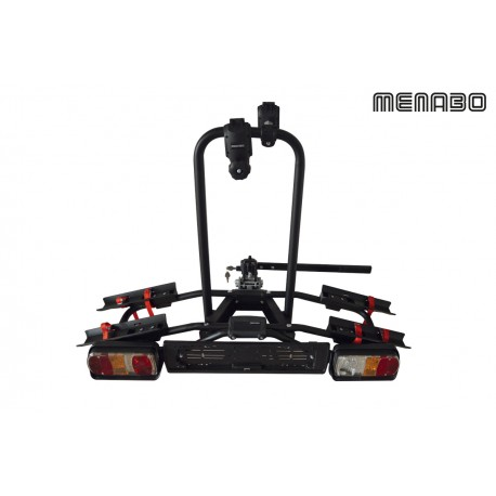Portabici da gancio traino MENABO' Naos Rapid 2 bici