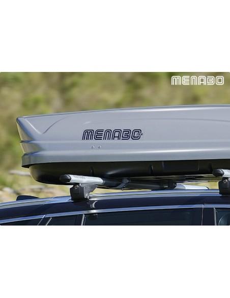 Baule da tetto MENABO' Mania 460 litri silver