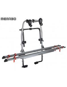 Portabici posteriore MENABO' Steel bike 2 bici