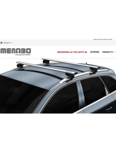 Barra portatutto MENABO' Lince XL silver
