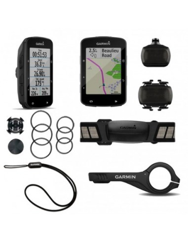 Ciclocomputer GPS GARMIN Edge 520 PLUS cartografico MTB pack