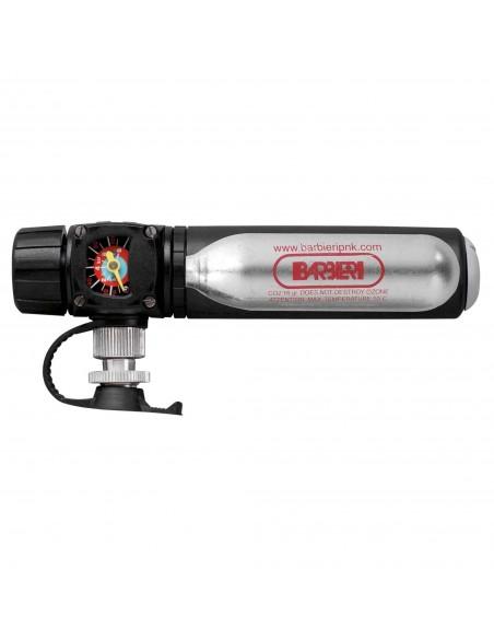 Pompa tascabile Barbieri VISIONAir erogatore Co2 + pompa con manometro