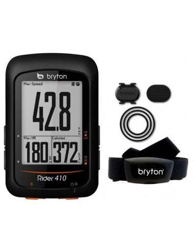 Ciclocomputer GPS bici BRYTON Rider 410E