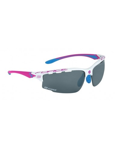 Occhiali ciclismo donna FORCE Lady QUEEN fluo