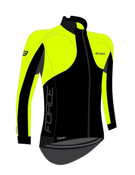 Giacca bici termica ciclismo Force X100