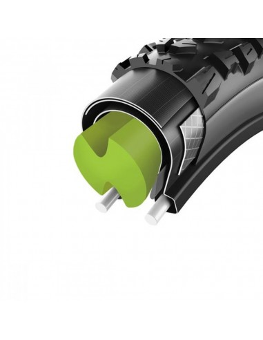 Kit antiforatura MTB mousse salsicciotto interno Cushcore 29 canale 22 - 35mm