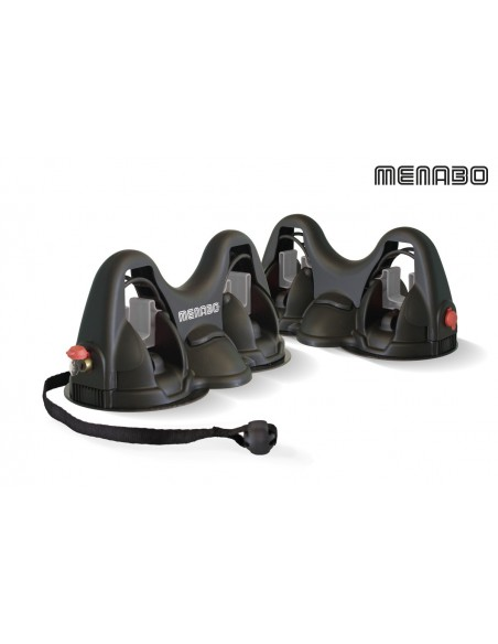 Porta sci magnetico da tetto MENABO' ACONCAGUA 3.0 3 sci 2 snowboard