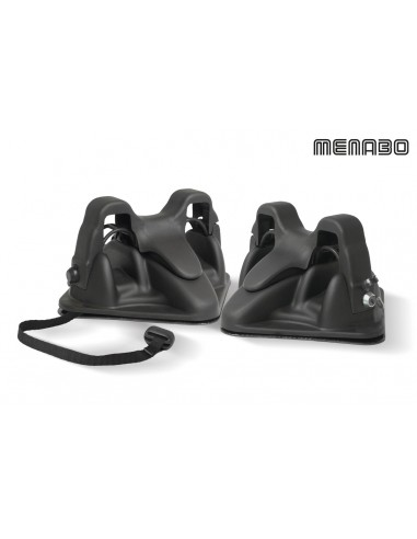 Porta sci magnetico da tetto MENABO' HIMALAYA 2 sci + bastoncini