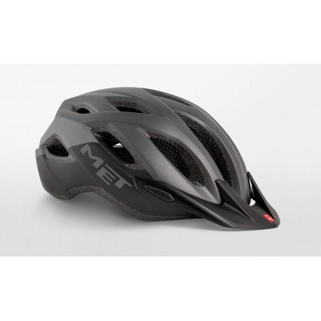 Casco bici MTB MET Crossover con luce LED di sicurezza 2019