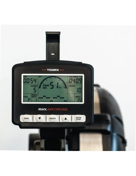Vogatore Toorx Chrono pro line RWX AIR CROSS resistenza ad aria con ricevitore wireless