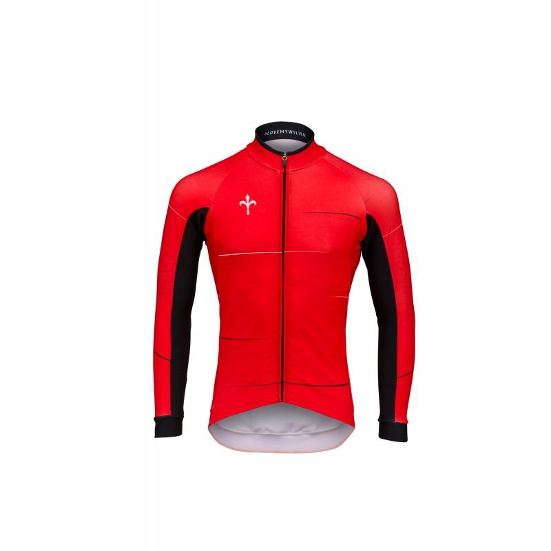 Maglia ciclismo invernale ciclismo Maglia WILIER CAIVO 04a191