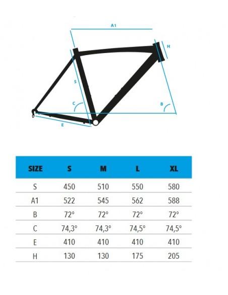 Bici da corsa VEKTOR AX1 alluminio COMFORT