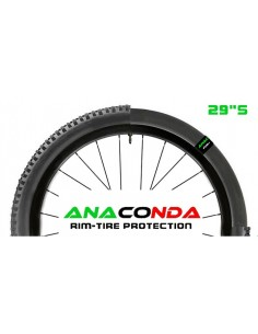 Kit antiforatura MTB mousse salsicciotto interno BARBIERI ANACONDA 29""