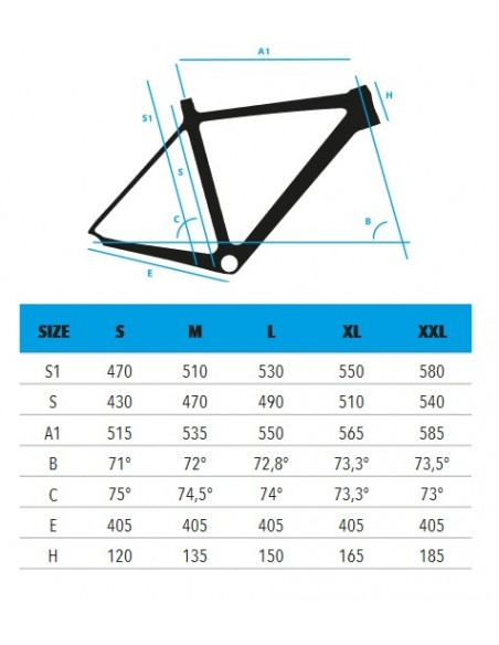 Kit telaio bici da corsa in carbonio VEKTOR Atlas
