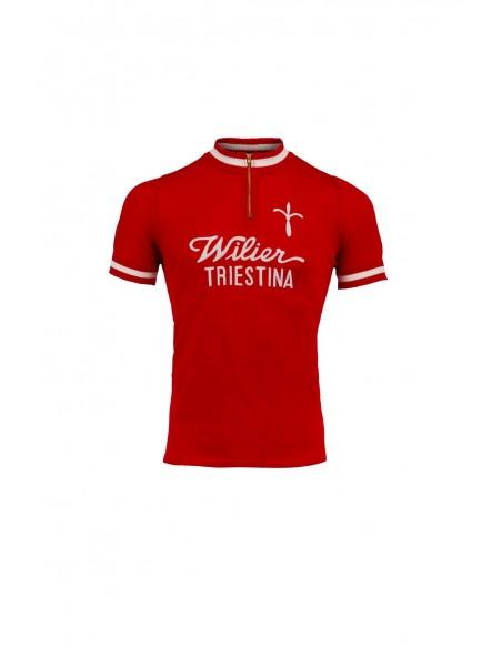 Maglia ciclismo WILIER 1975 vintage lana