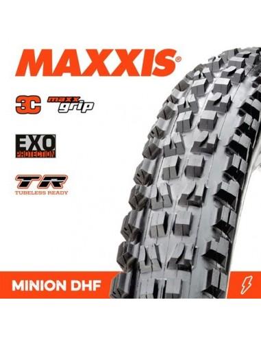 Copertone MTB  Maxxis Minion DHF EXO TR 27,5 x 2,50 3C 60TPI MAXXGRIP