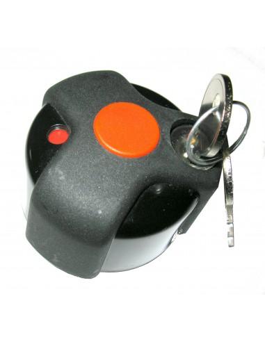 Pomello antifurto con chiave per portabici PERUZZO art. 365