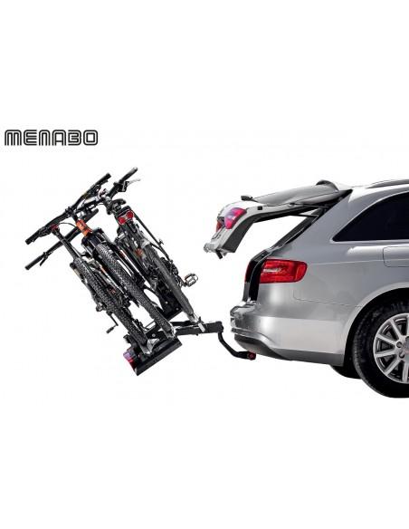 Portabici da gancio traino MENABO' Sirio 2 bici