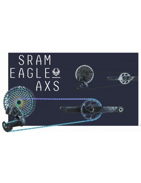 Gruppo SRAM XX1 AXS Black EAGLE DUB 12 velocita' elettronico