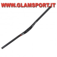 BA12677 - AZONIC MANUBRIO DH MTB WORLD FORCE BAR NERO RISE 1""
