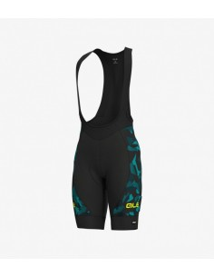 Pantaloncini ciclismo ALE' GRAPHICS PRR GLASS petrolio turchese 2019